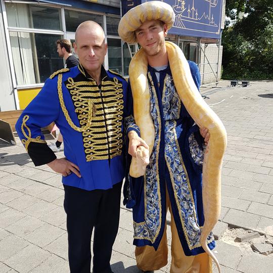Evert Duitshof met Ali Babba